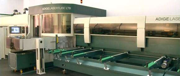 Adige Lasertube LT8 - die Maschine für Rohrlaserschneiden