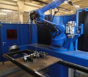 Roboterschweißen mit Motoman HP20-6
