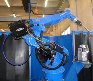 Roboterschweißen mit Motoman