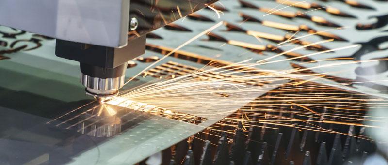 Laserschneiden von Blech
